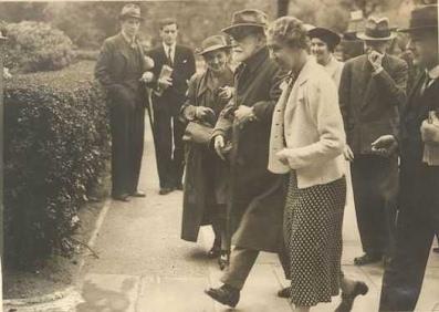 Con Anna a Londra nel 1938